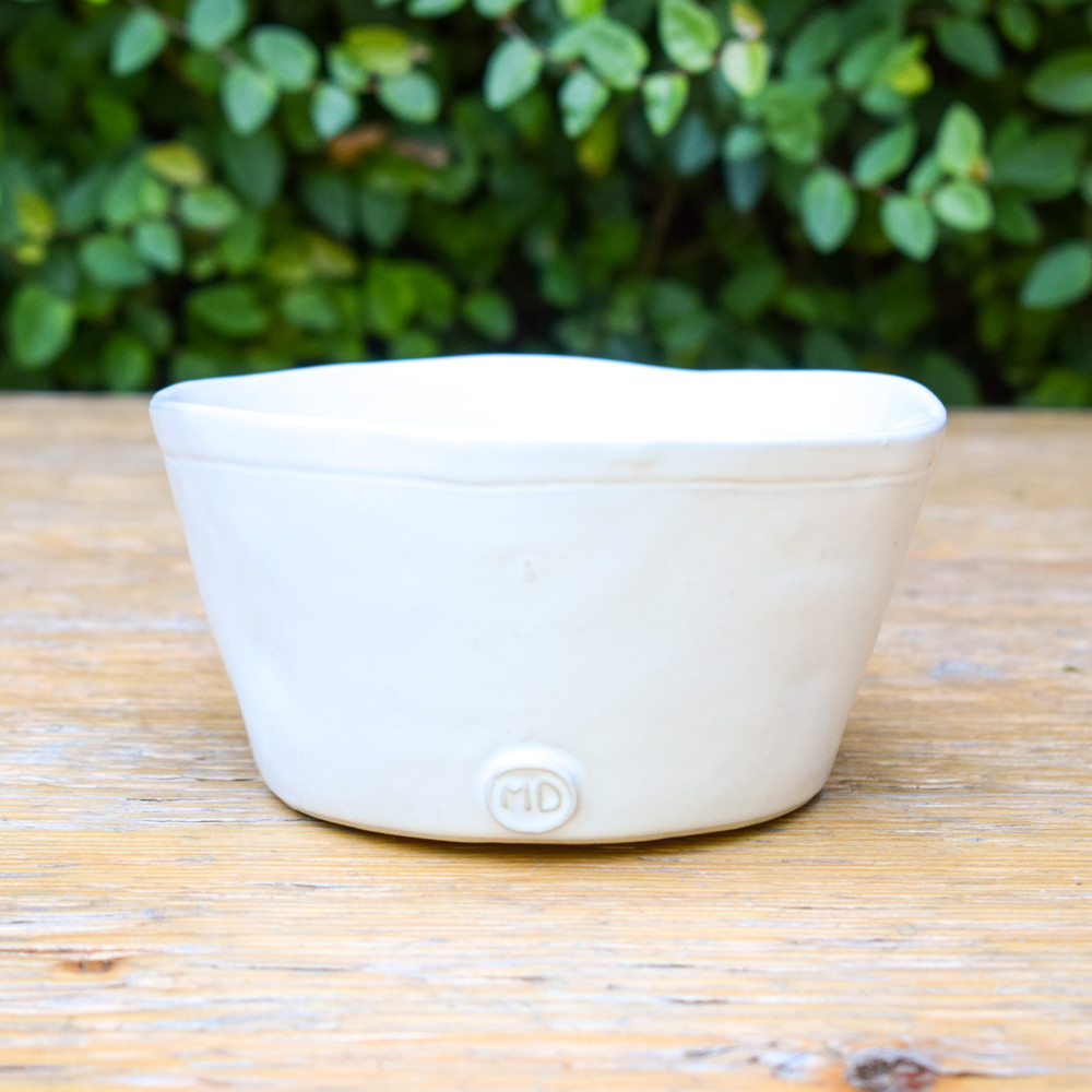 The perfect bowl for mixing, serving, or your favorite cereal. This classic ceramic bowl can instantly enhance your place settings and serving dishes. Great to use for dip on a cheese board or condiments to accompany your main course!