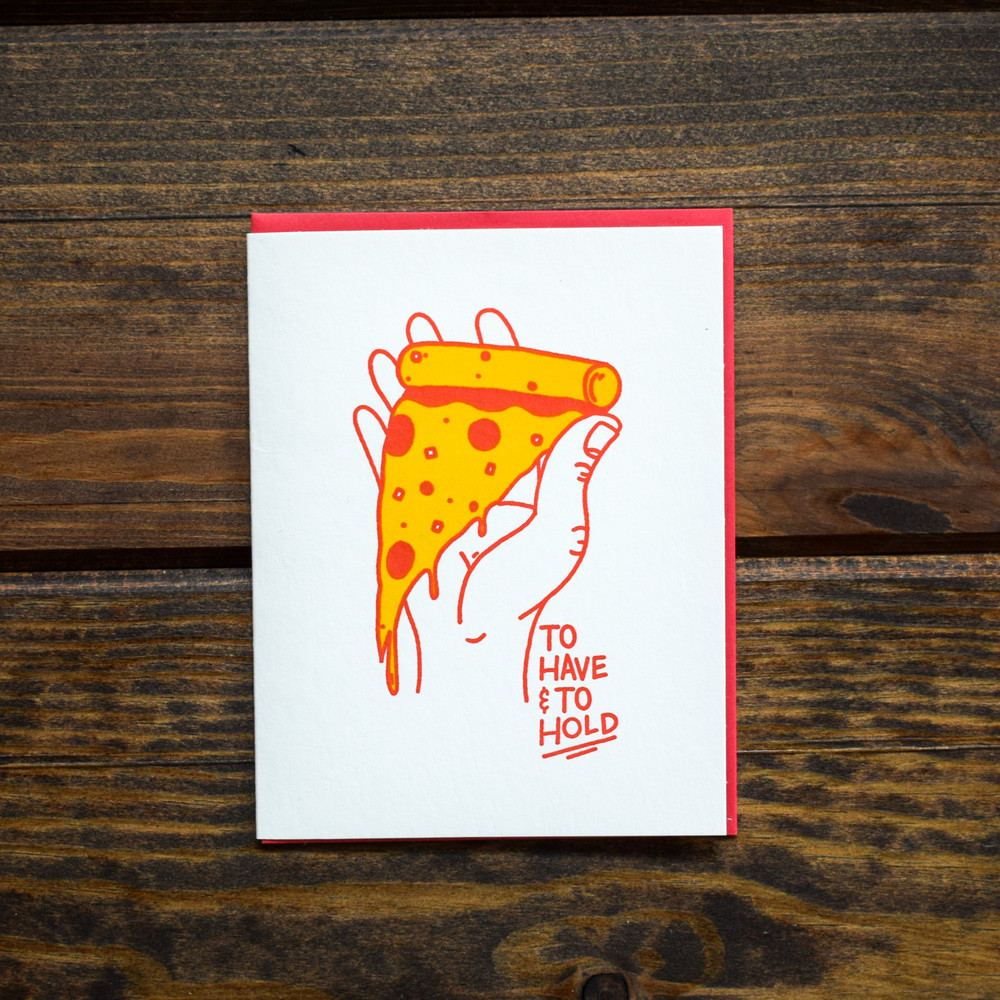 Have & Hold Pizza Card
