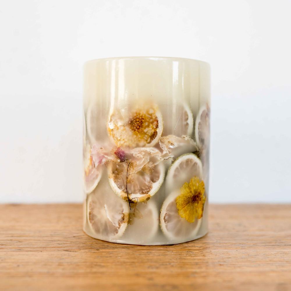 Lemon Blossom & Lychee Botanical Candle