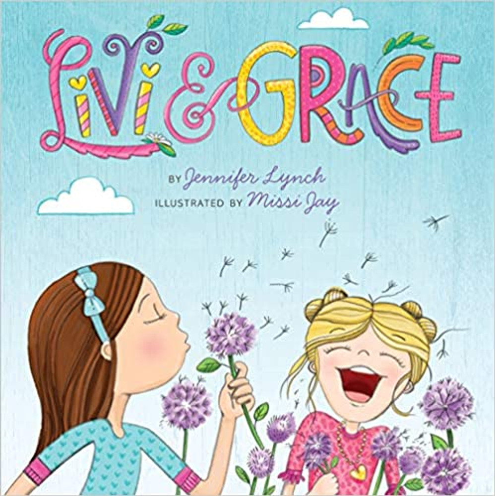 Livi and Grace is a beautiful book that shares the message to love yourself and your unique qualities.  Two sisters who couldn't be more different go through their days being their unique selves.