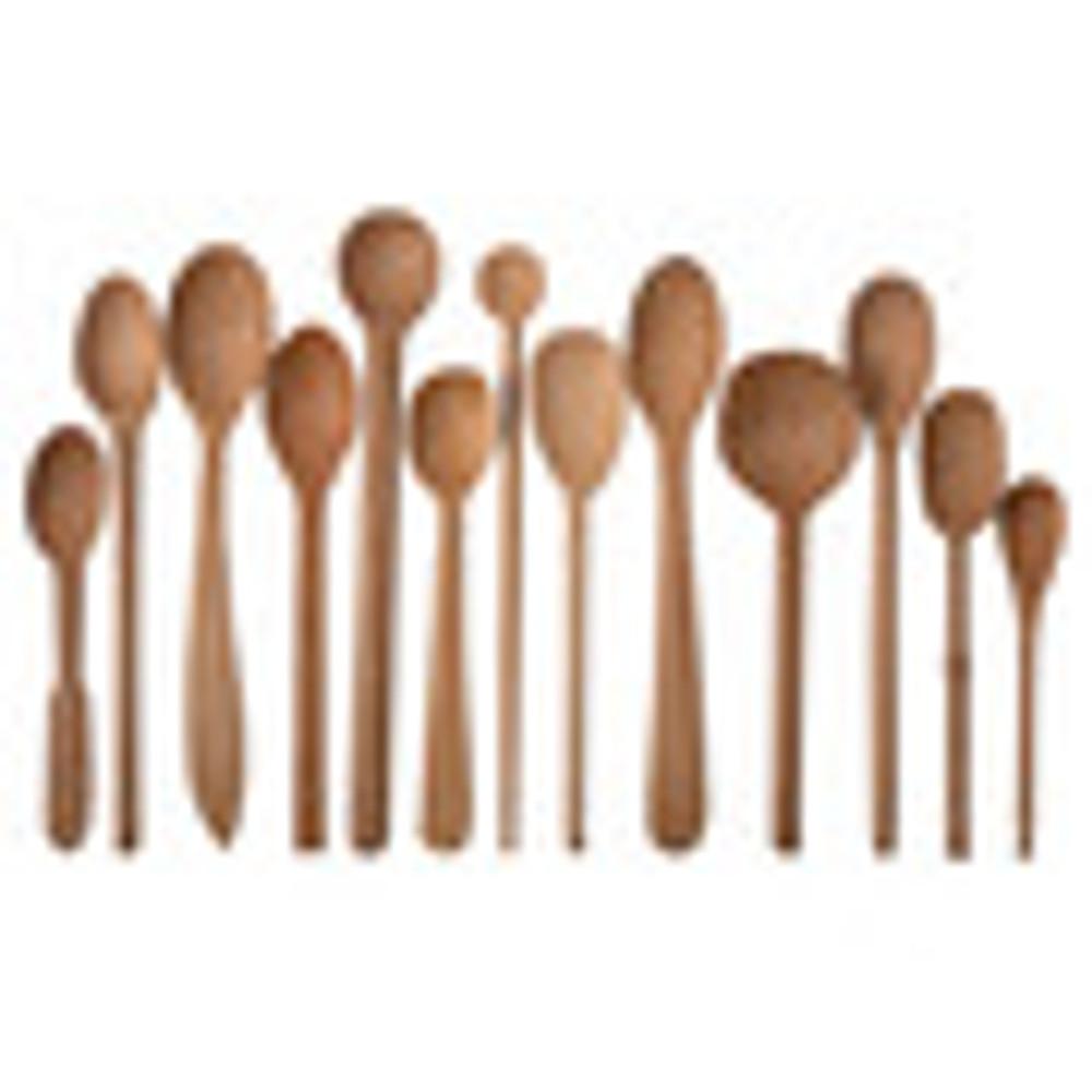 Assorted Baker's Dozen Wood Spoons
