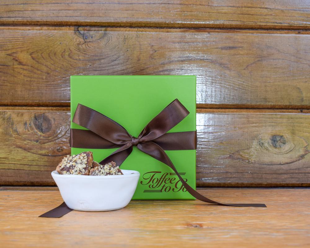 Chocolate Pecan Toffee