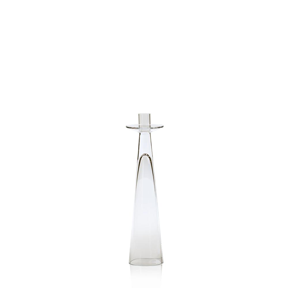 Amin Glass Candleholder