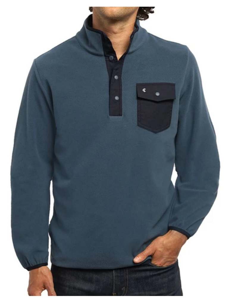 Snap Fleece Pullover