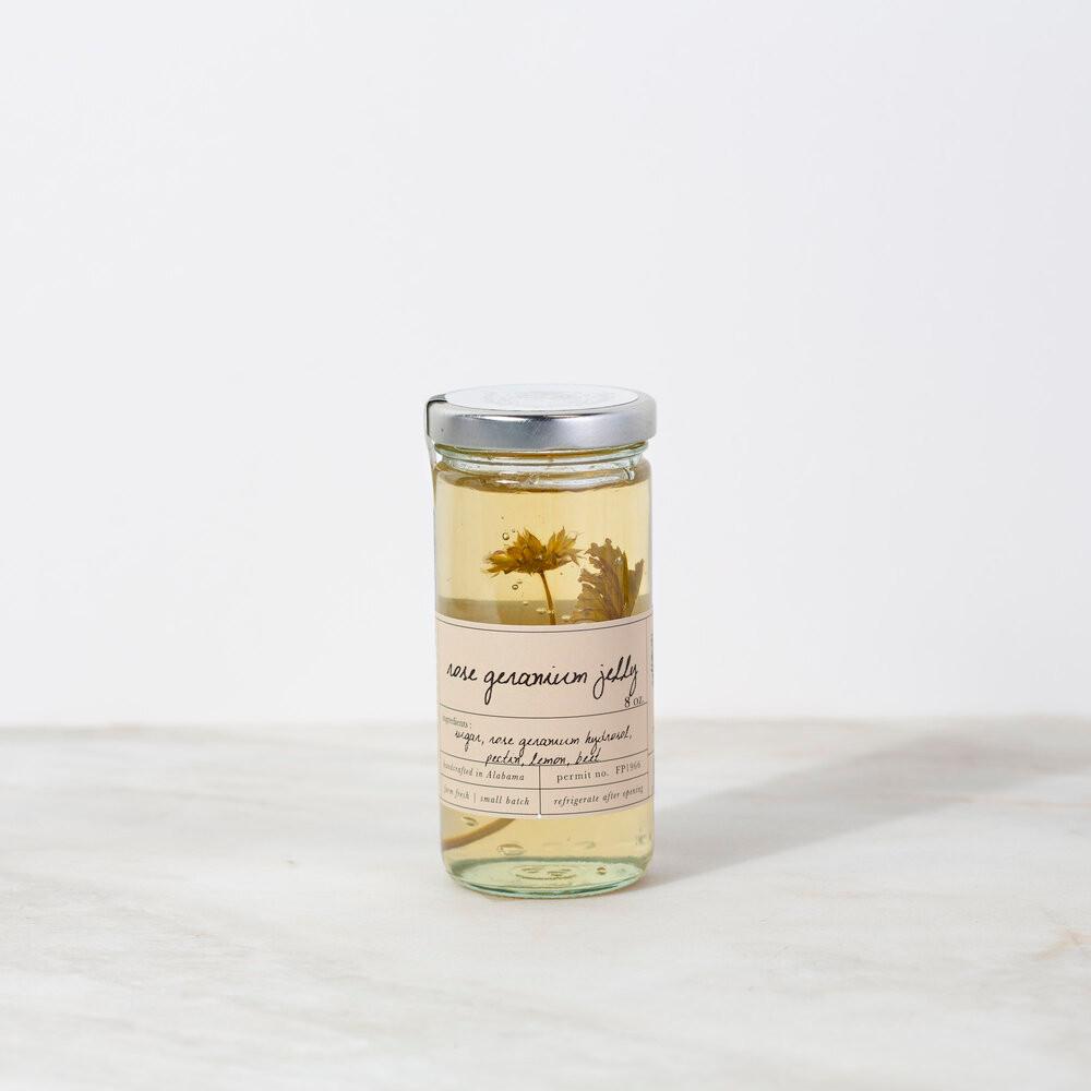 Rose Geranium Jelly