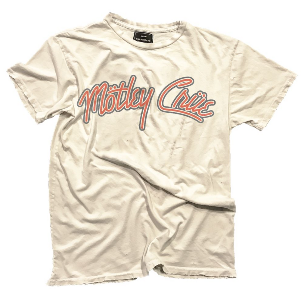 Motley Crüe Retro Tee