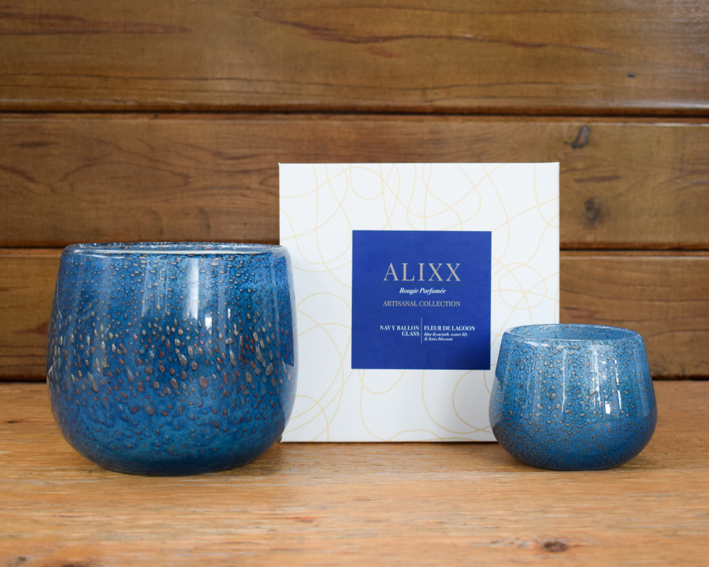 The Alixx candles strive to bring the finest aspects of European living into your home. The mouth blown glass houses hand poured wax and perfumes from master perfumers in the south of France. Once completely burned you are left with a beautiful work of art you can continue to enjoy for years to come. Made in the USA.