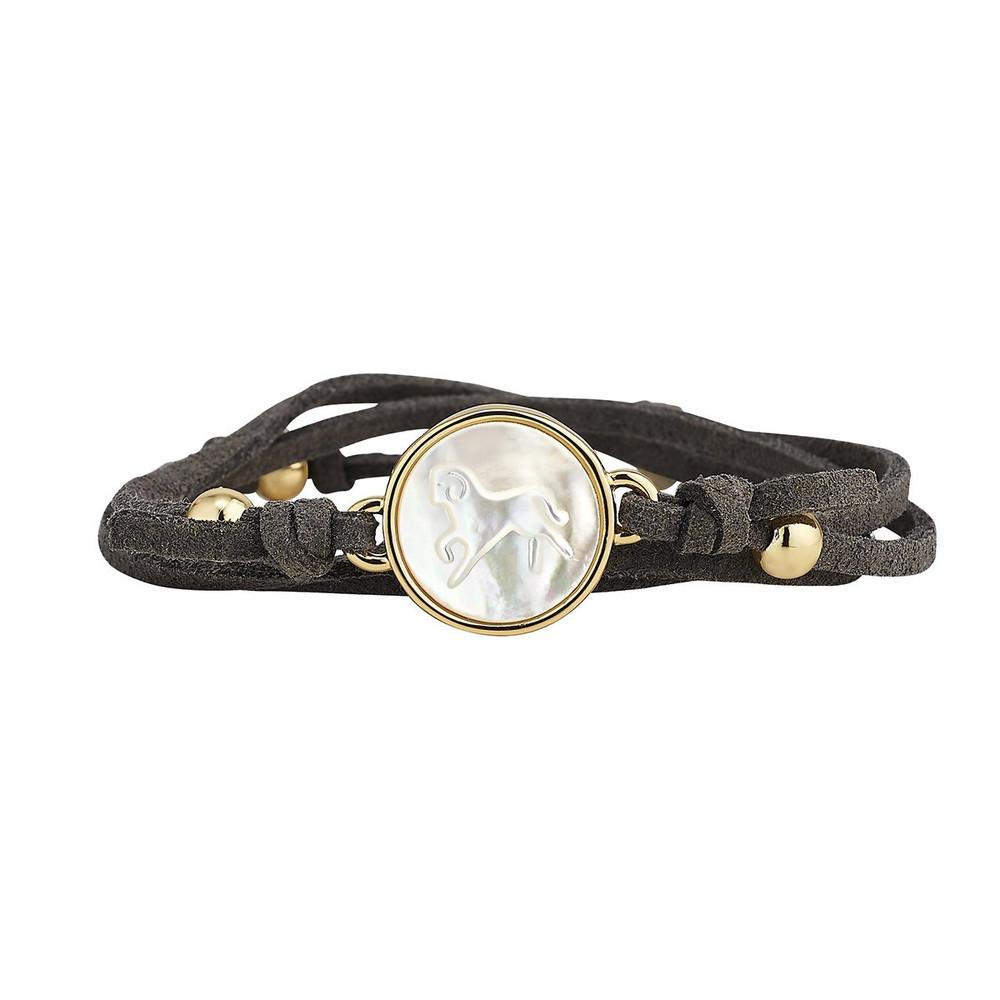 Suede Wrap Bracelet
