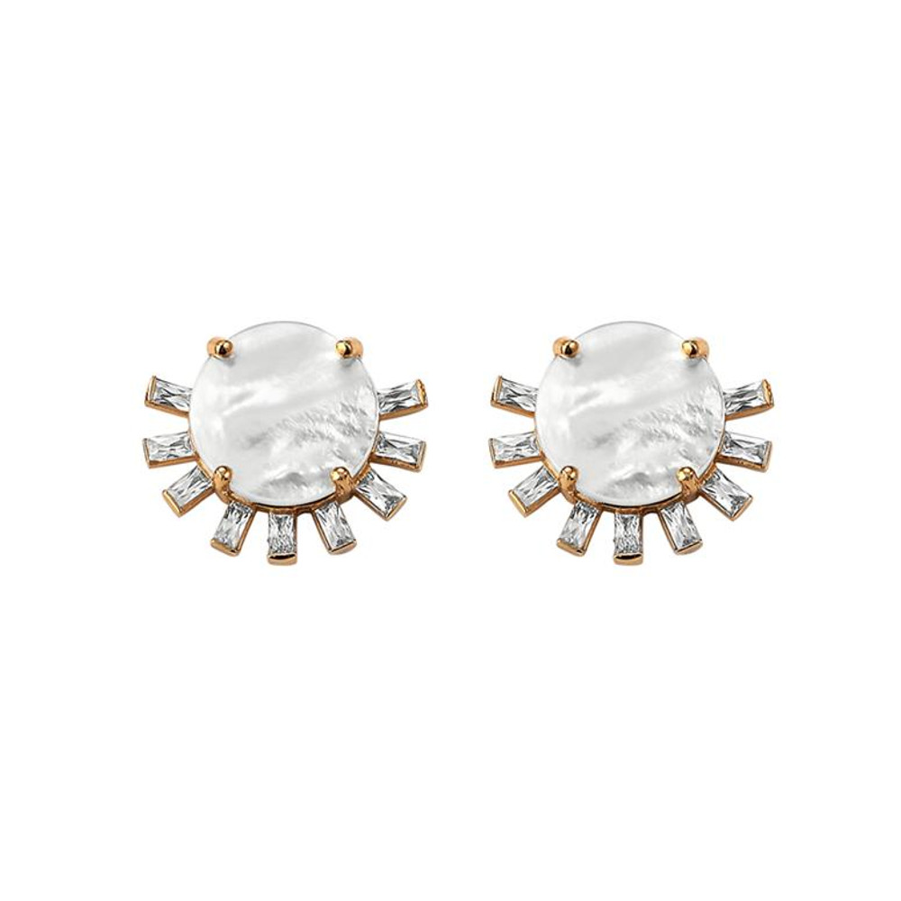 Tallulah Stud MOP Earrings