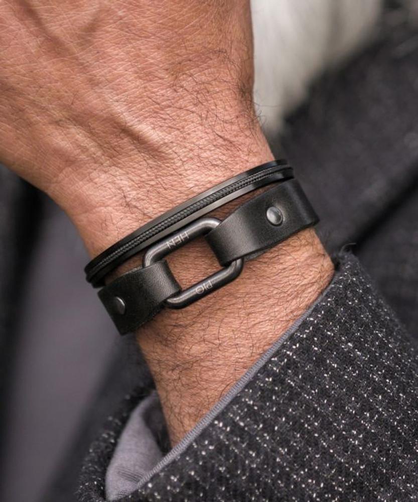 Limp Lee Leather Bracelet