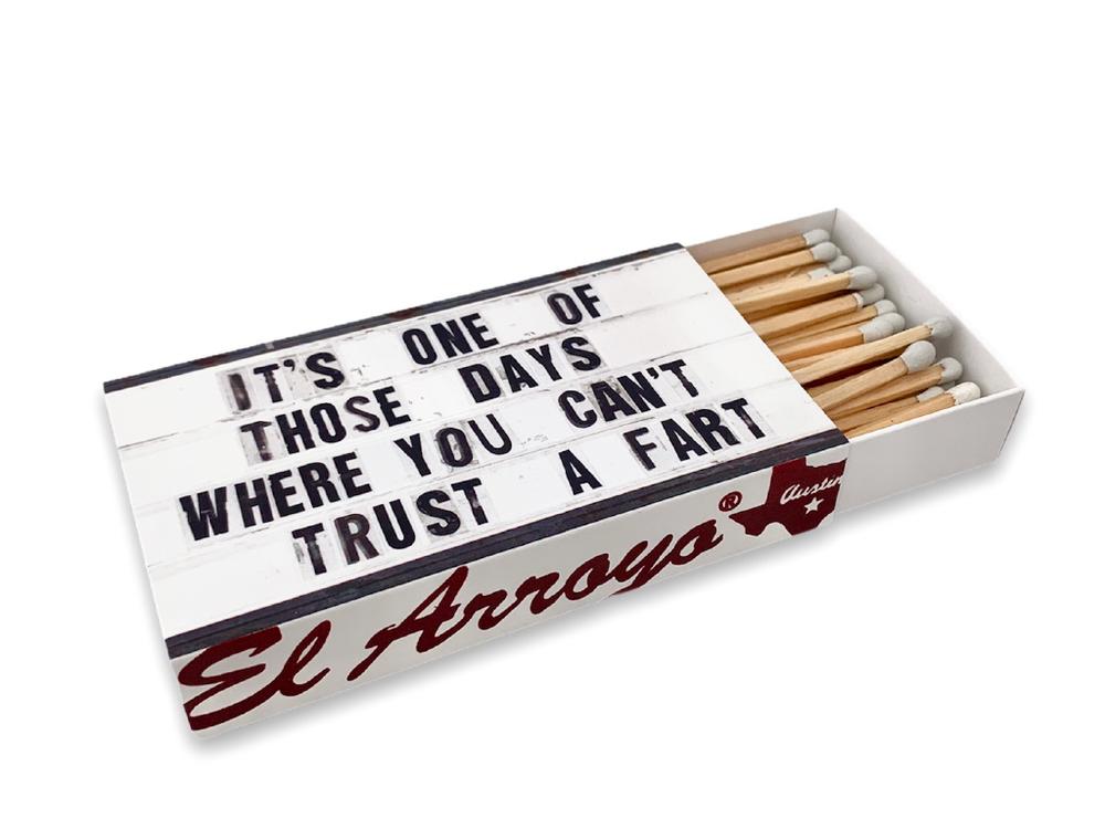 El Arroyo Matchbox