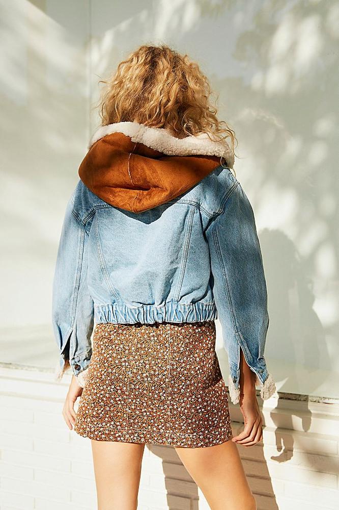 Perry Hooded Denim Jacket