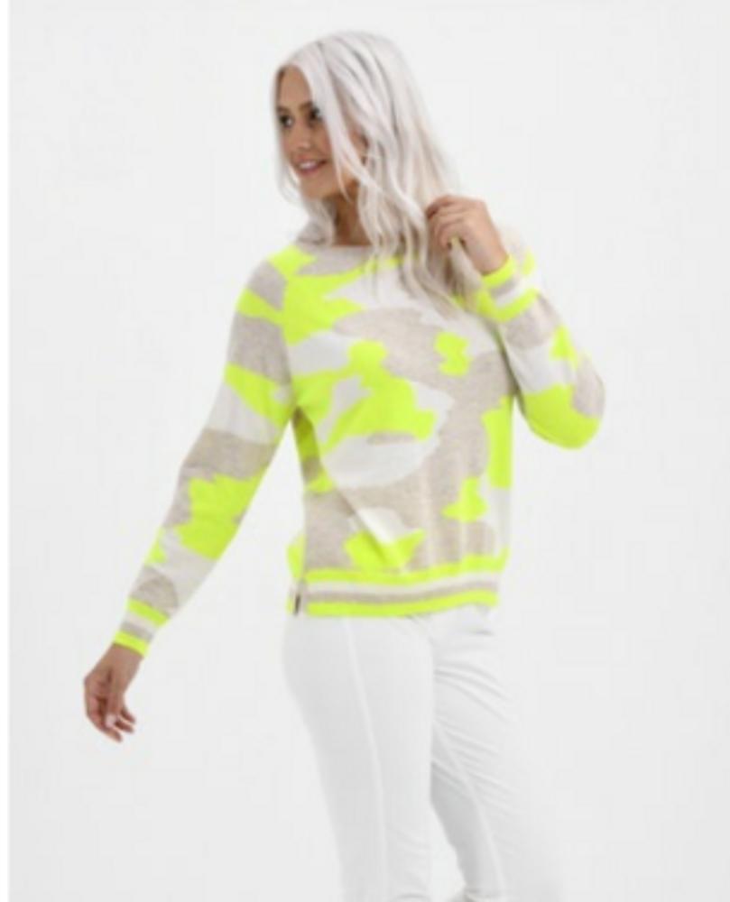 Snowy Camo Sweater