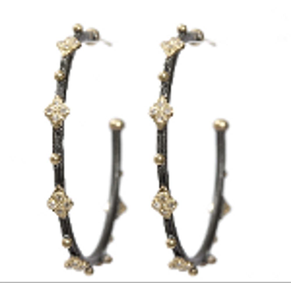 Old World Hoop Earrings