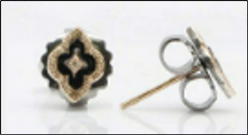 Scroll Stud Earrings