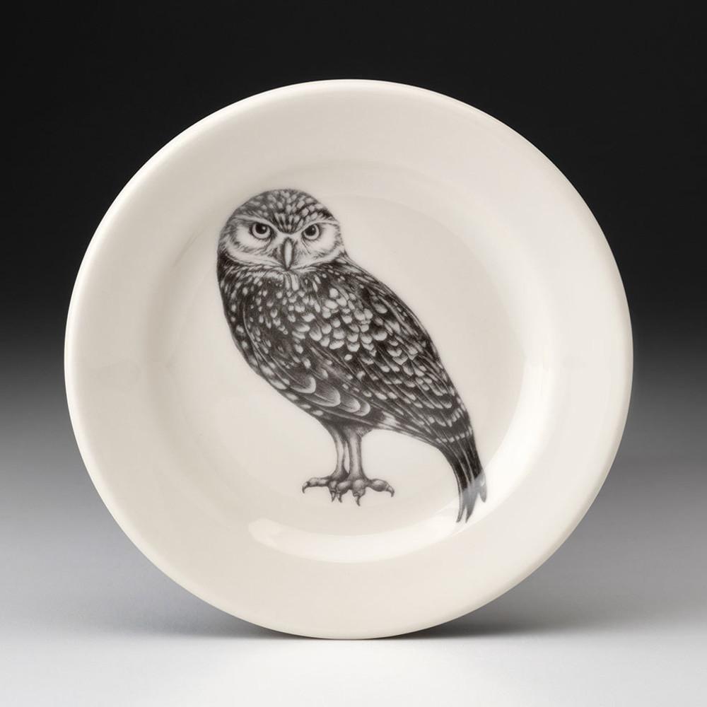 Bread Plate - Burrowing Owl