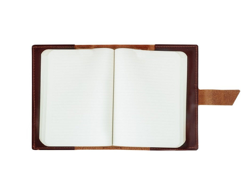 Wasatch Leather Notebook - Saddle