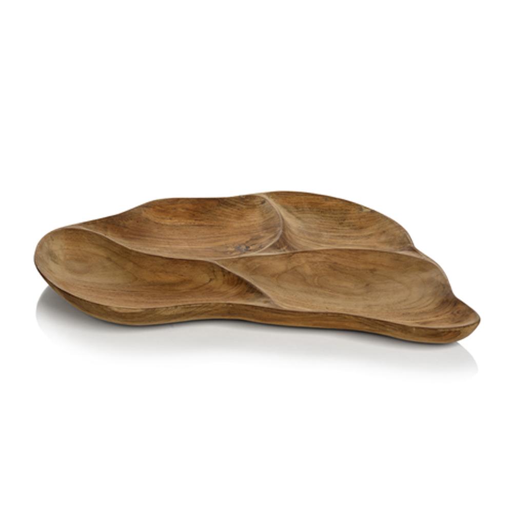 Santos Wood Condiment Tray