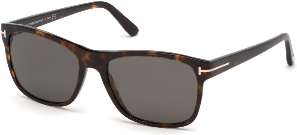 Giulio Sunglasses - Shiny Havana with Polarized Smoke Lenses
