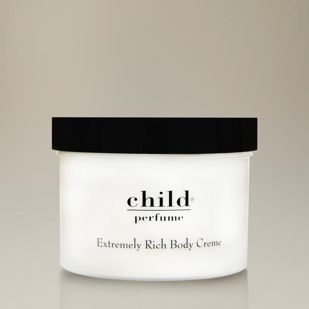 Child Perfume Extremely Rich Body Creme is a luxurious cream that gives skin a hydrated sheen and radiates the intoxicating aroma of Child Perfume.
