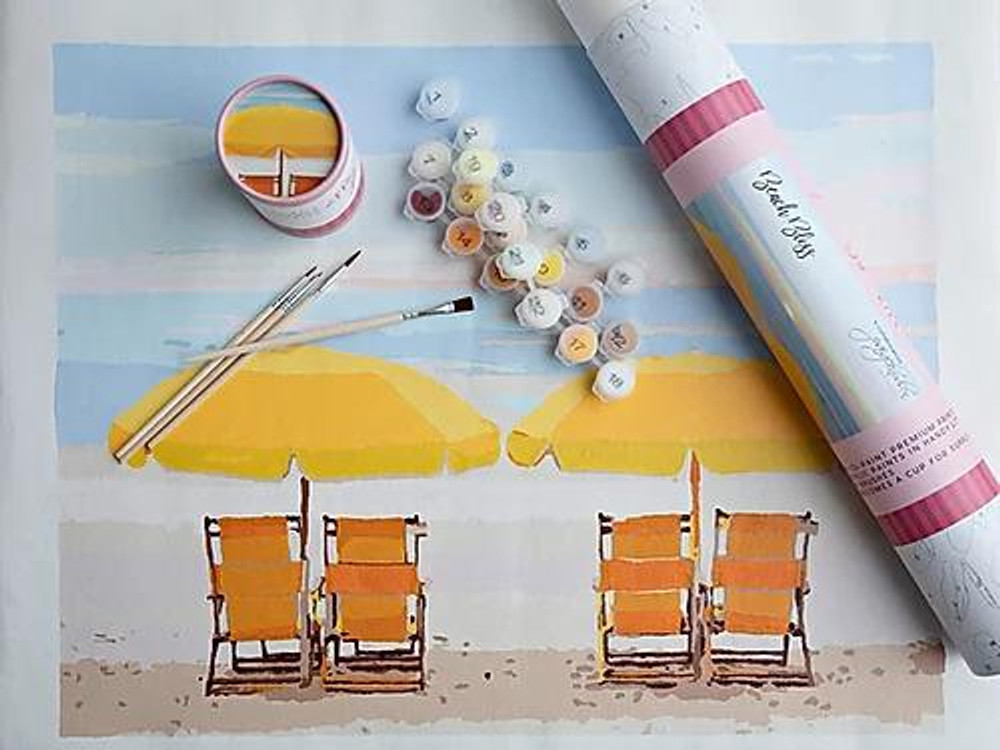 Paint by Numbers - Beach Bliss