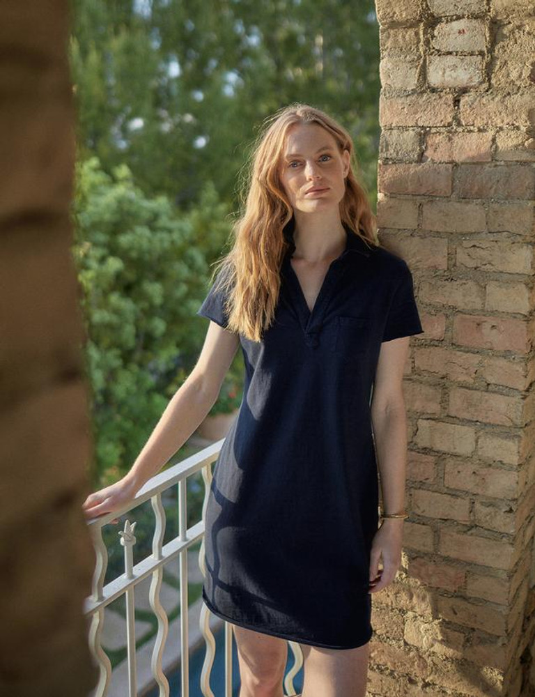 Short Sleeve Polo Dress
