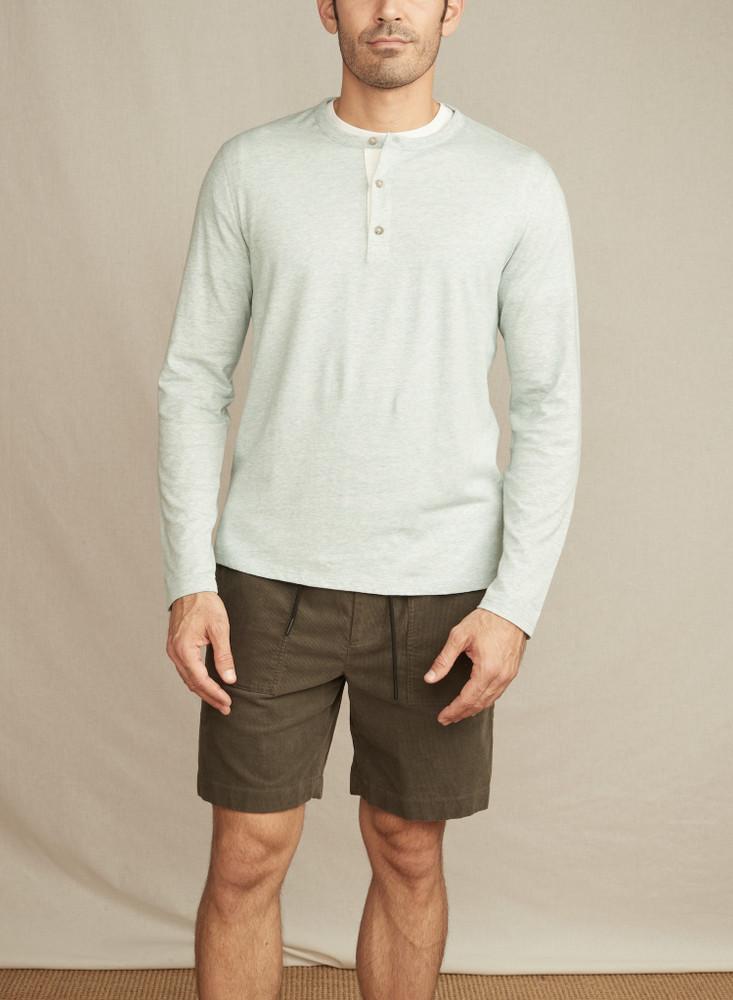 LS Henley - Linen Textured