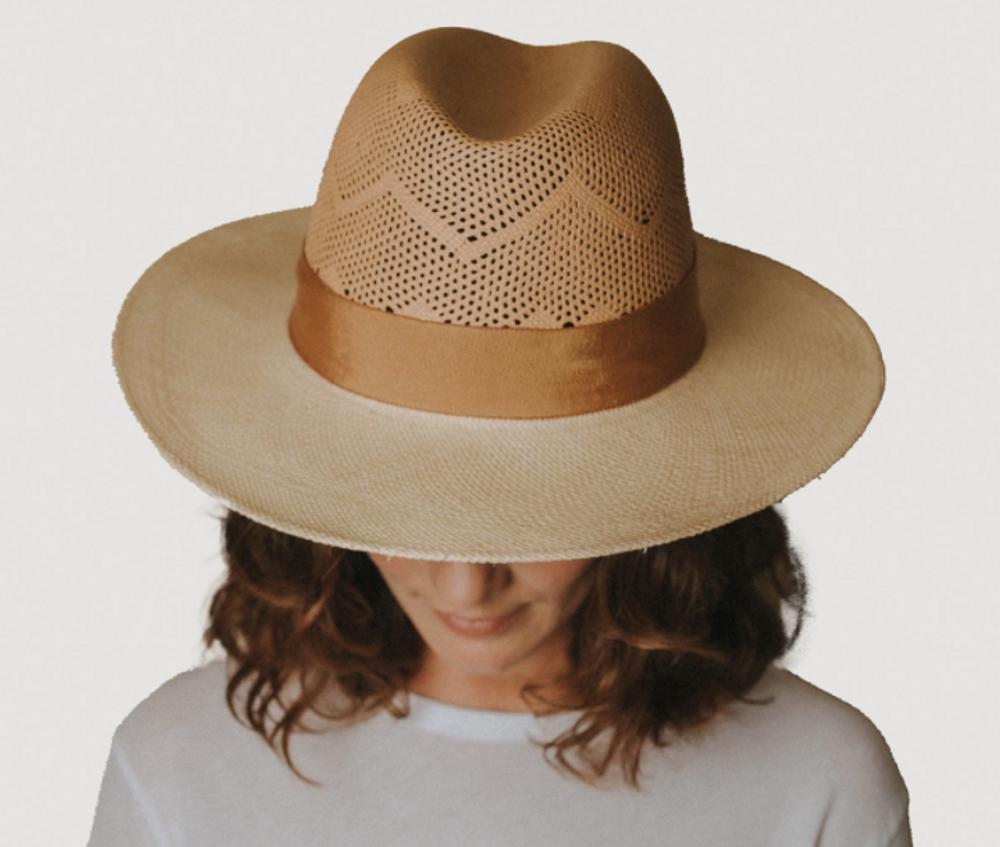 Camelia Hat - Sand/Natural