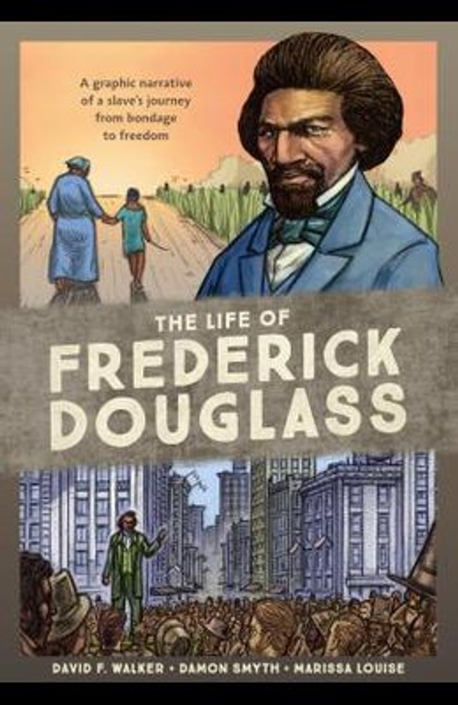 A graphic novel biography of the escaped slave, abolitionist, public speaker, and most photographed man of the nineteenth century, based on his autobiographical writings and speeches, spotlighting the key events and people that shaped the life of this great American.