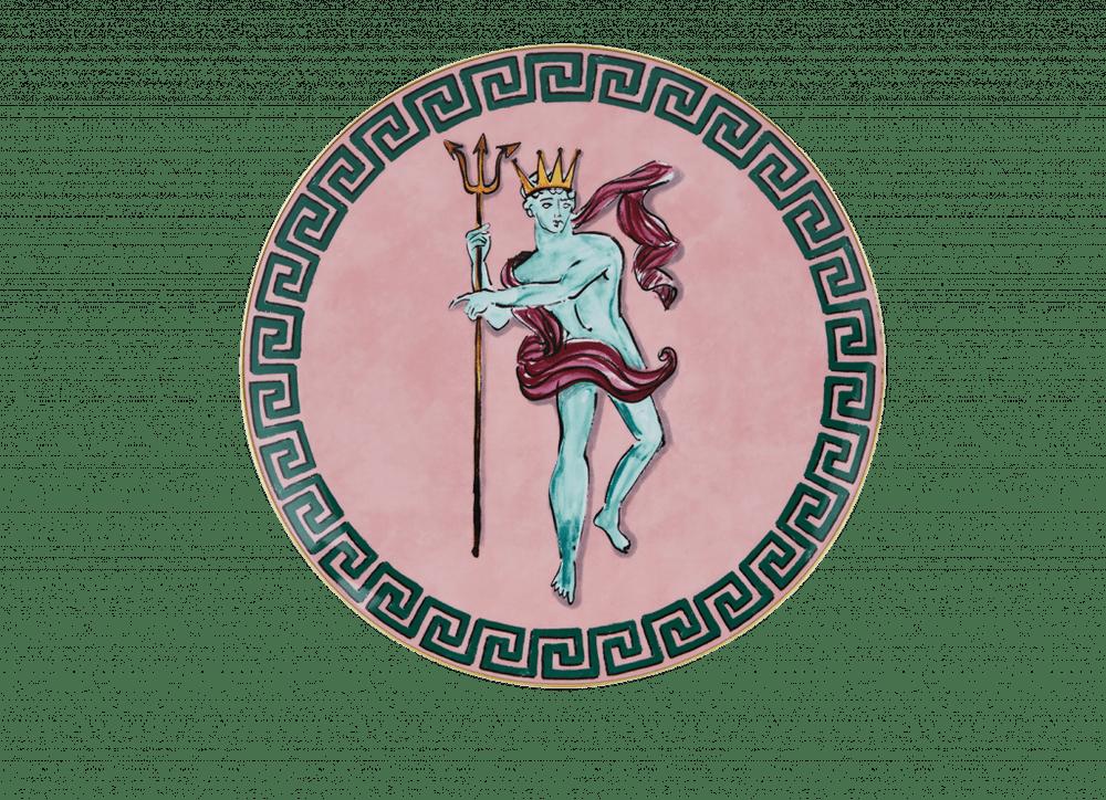 Neptune's Voyage Centerpiece - Pink