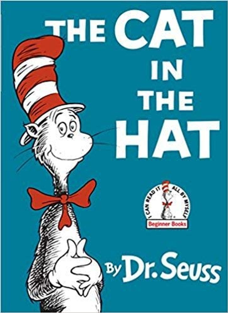 Cat in the Hat by Dr. Seuss (Board Book)