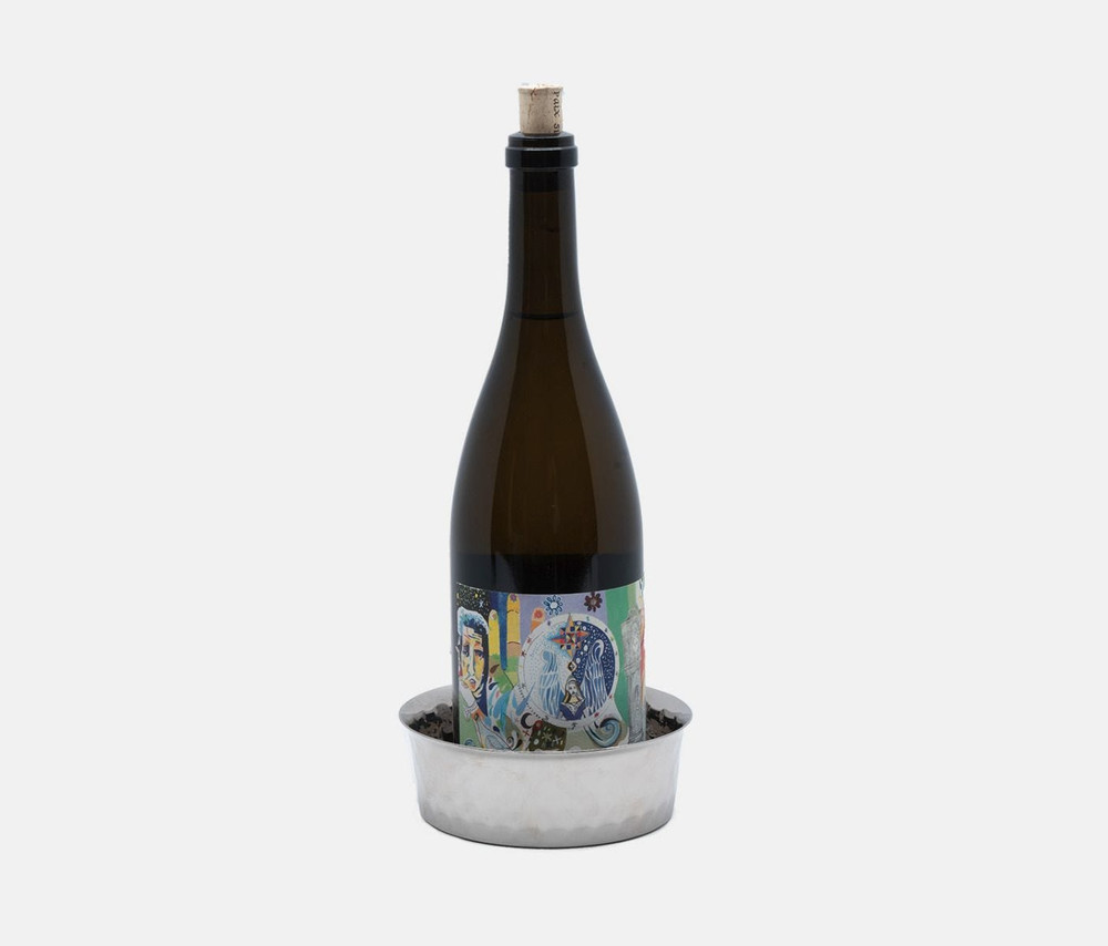 Rogers Wine Coaster - Nickel