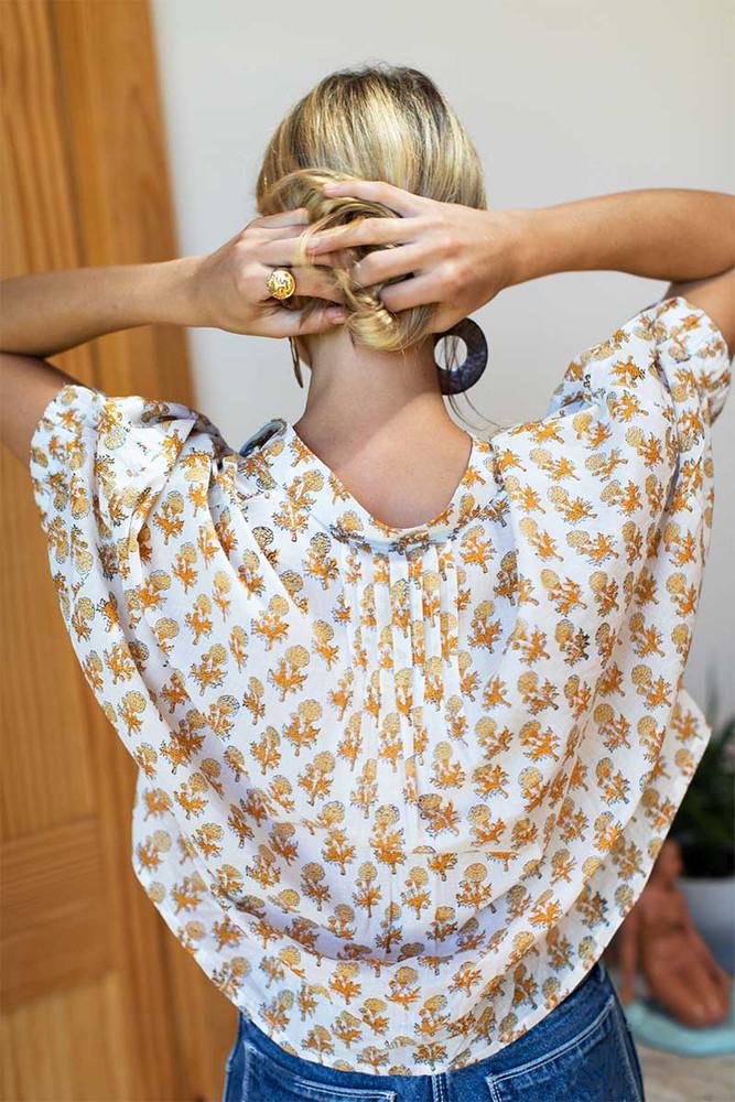 Mandarin Collar Top