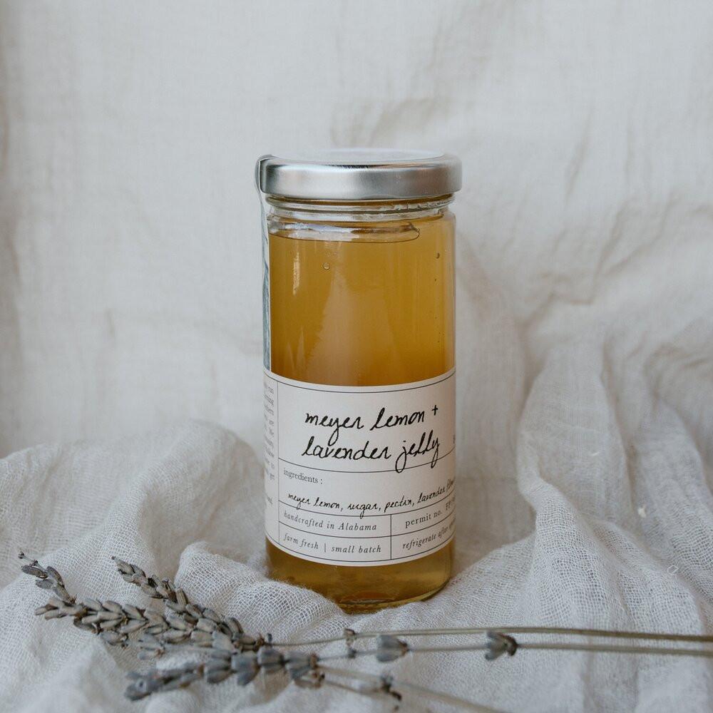 Meyer Lemon & Lavender Jelly