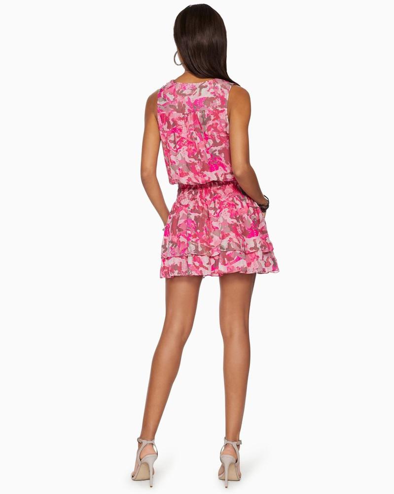 Maison Ruffle Mini Dress