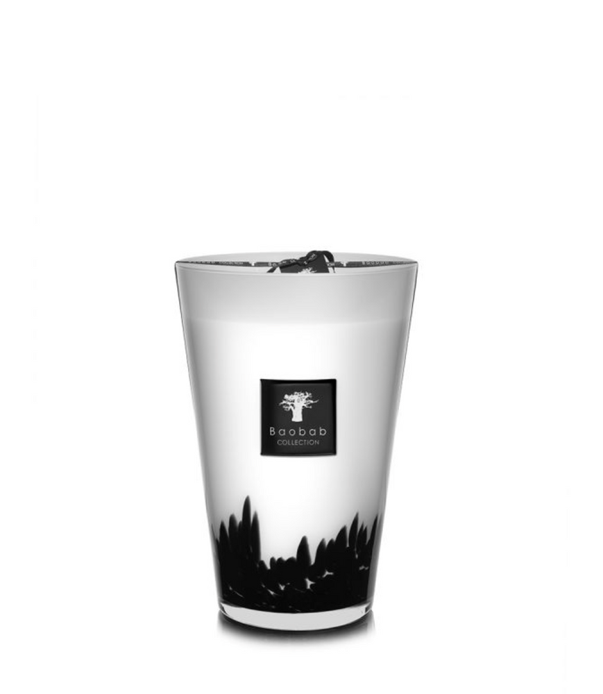 Transport yourself to a different world with the Baobab Collection candles. The sensory experience is created by perfumers in South France, and the hand-blown glass comes from European Artisans. A piece of art for your home that you can continue to enjoy long after the last flame.