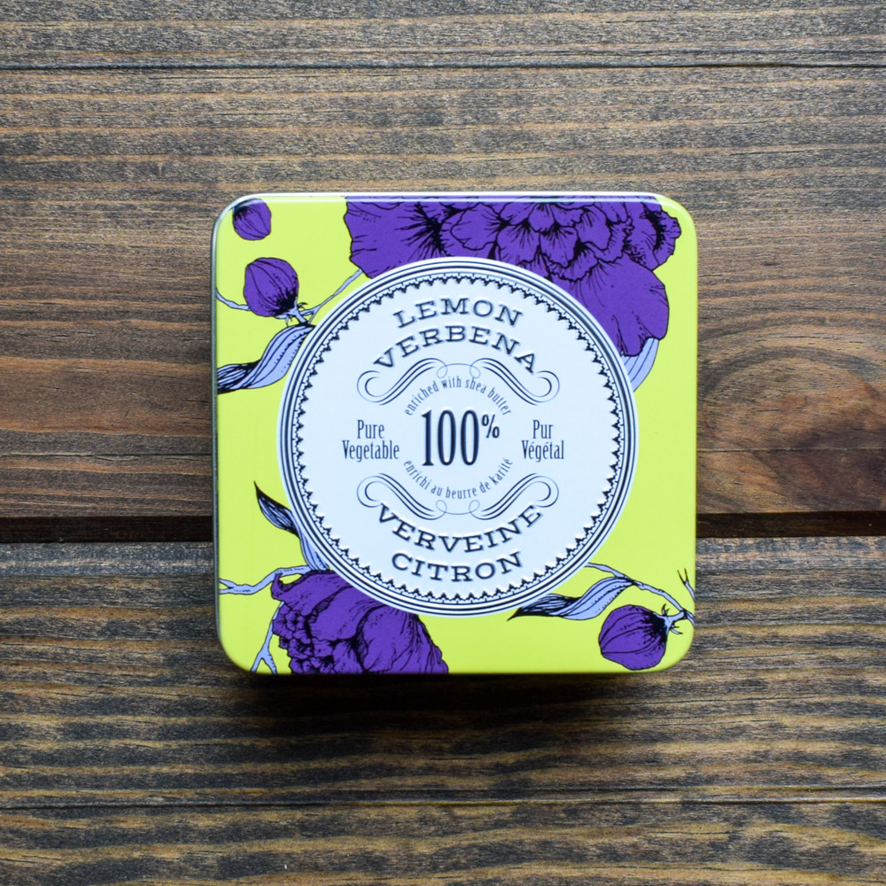 Made in Provence, France using organic and natural ingredients this Travel Soap is enriched with shea butter and calendula to leave your skin hydrated and refreshed. Perfectly packaged in an embossed tin the Travel Soap makes a great gift!
