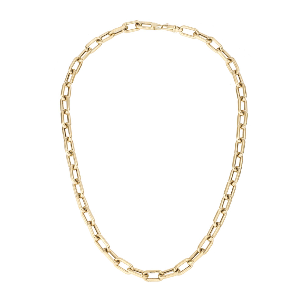 Italian Chain Link Necklace