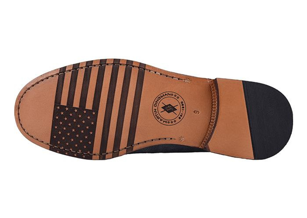 All-American Distressed Suede Penny