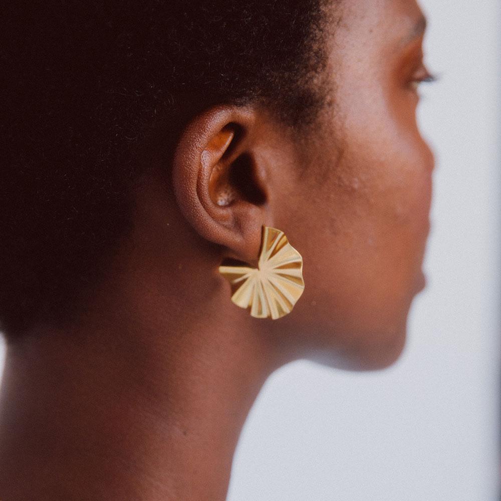 Bidu Circle Hoop Earrings