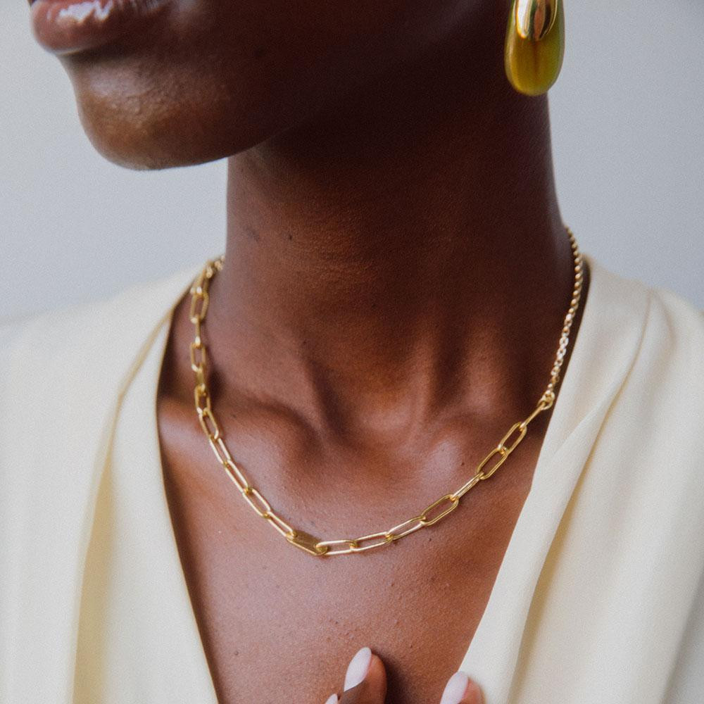 Delicate Elipse Collar