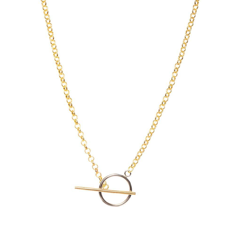 Mini Taji Necklace - Mixed Metal