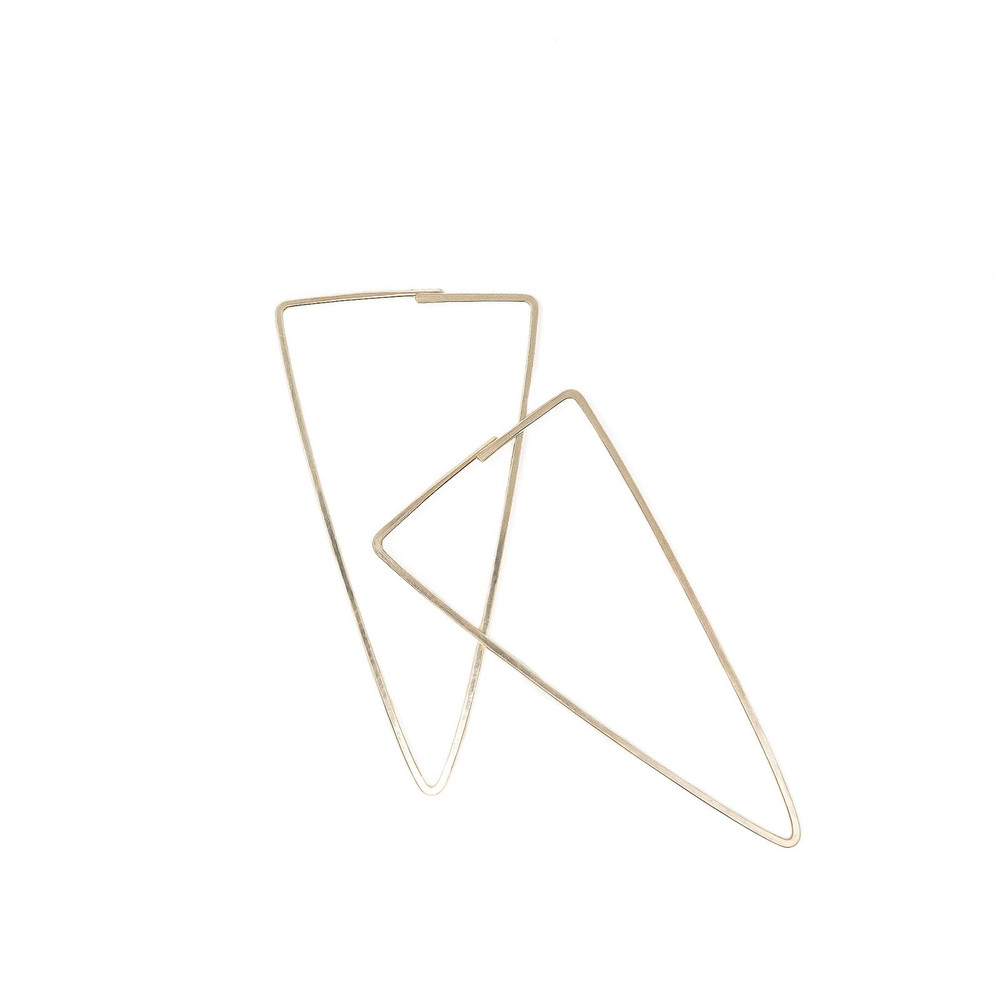 Emerson Triangle Earrings - Gold