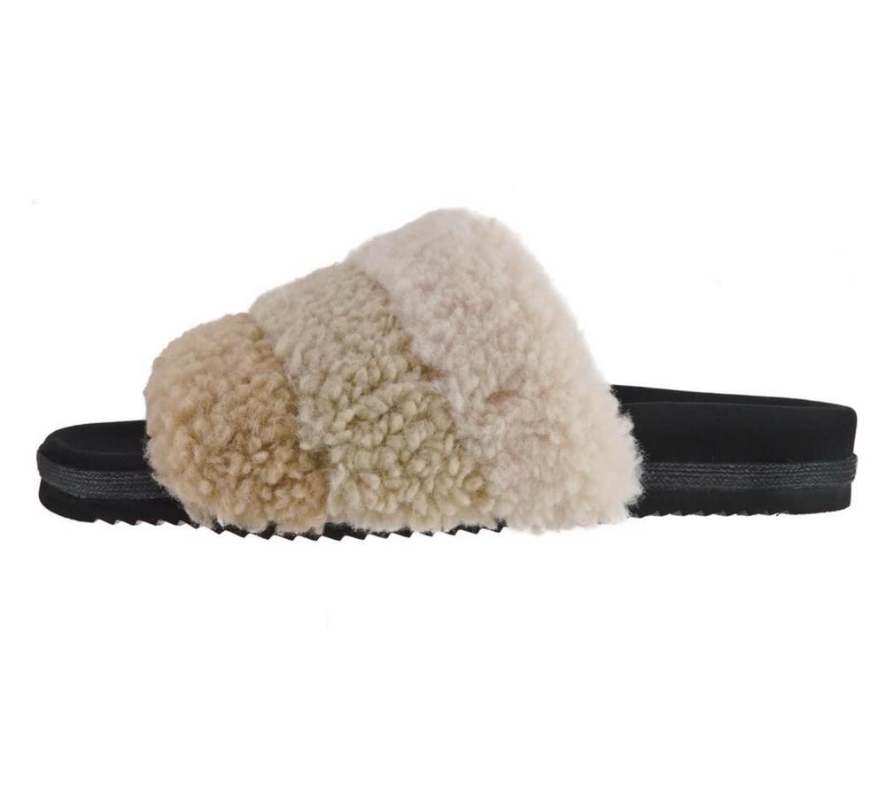 Fuzzy Puff Slipper