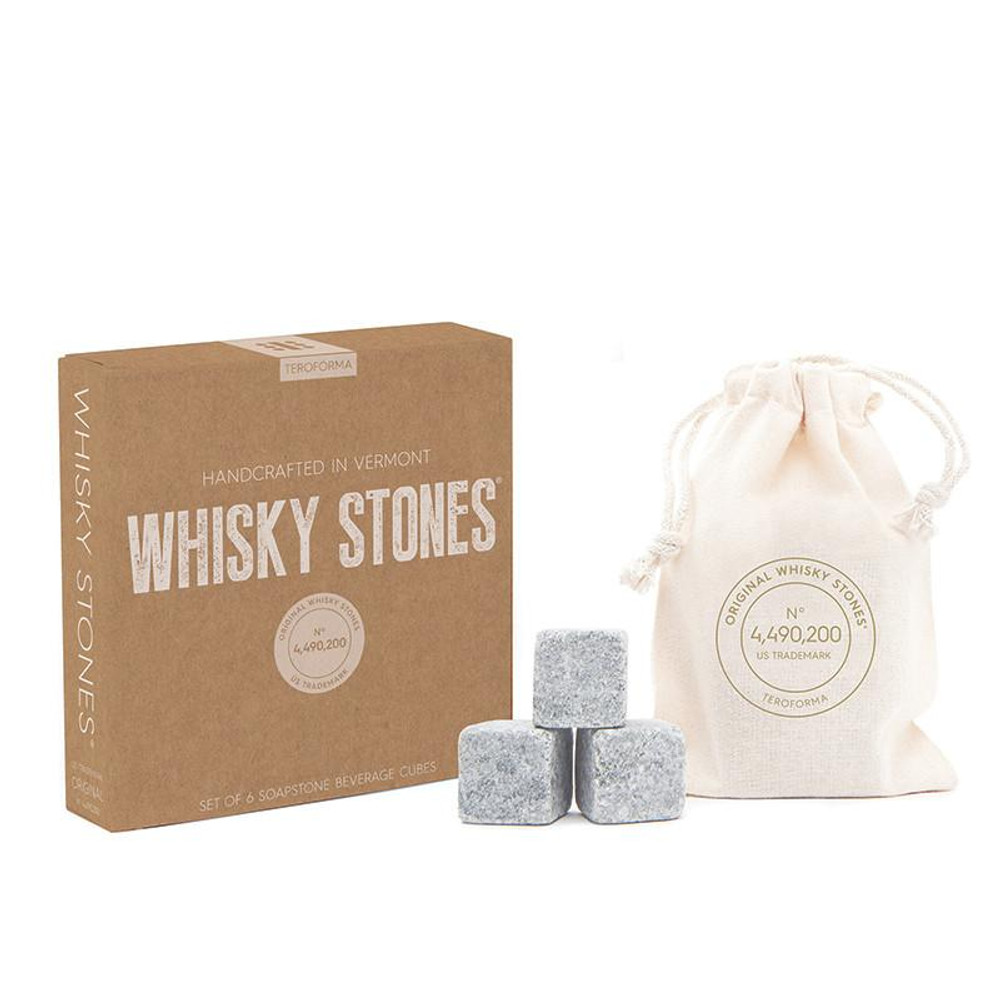 Whiskey Stones - Set of 6