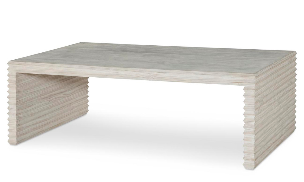 Belmont Coffee Table - White Rustic Pine