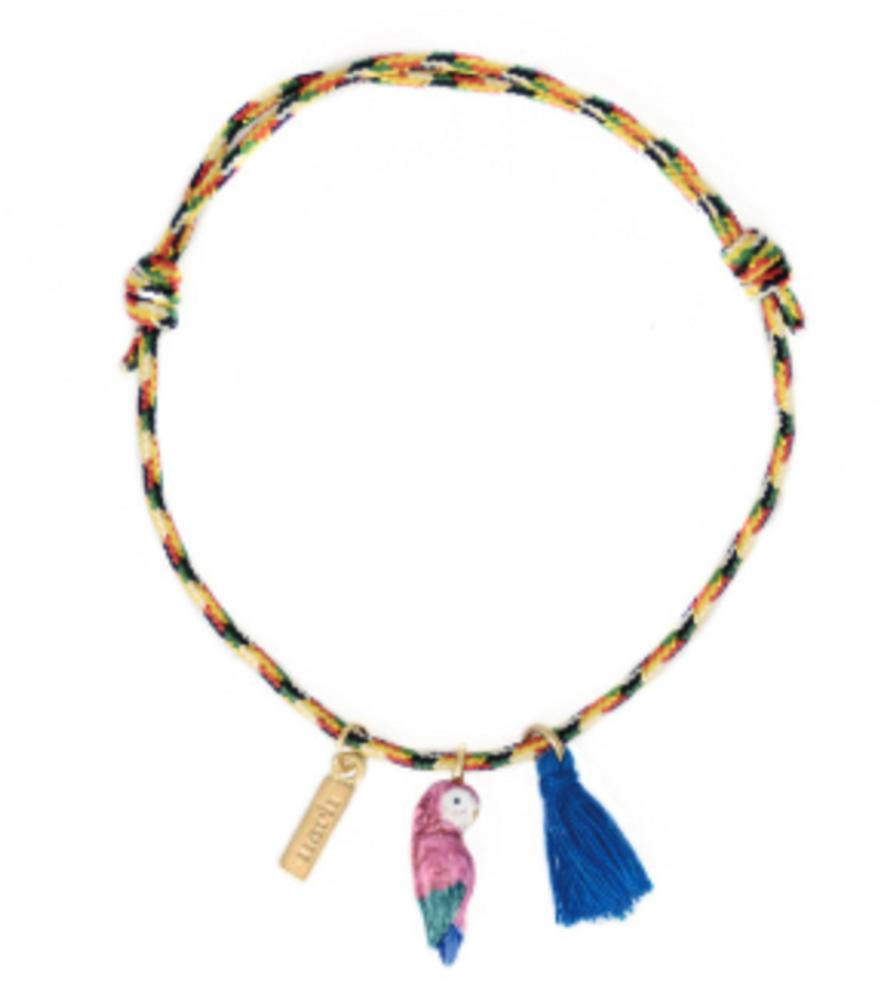 Pompom Multicolor Charm