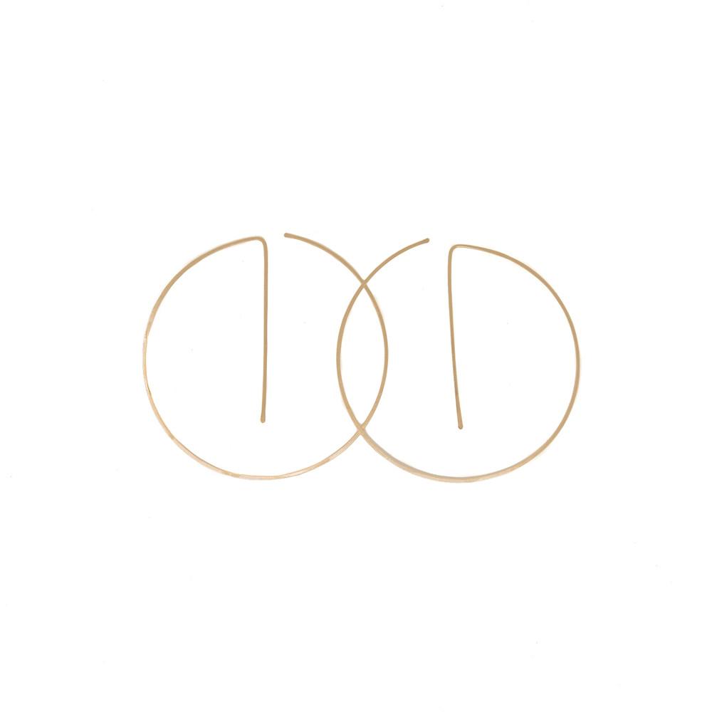 EV Hoop Earrings