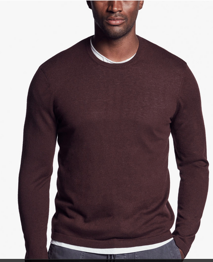 Cashmere Crew- Semi Worsted Long Sleeve