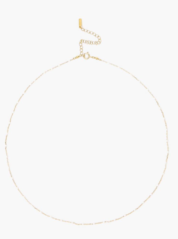 Enamel Bead Necklace